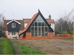 Garden Room extension, Frostenden